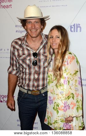 LOS ANGELES - JUN 25:  Vincent Szarek, Cari Sladek at the Together1Heart Launch Party at the Sofitel Hotel on June 25, 2016 in Los Angeles, CA