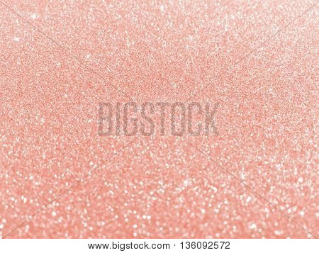 rose gold glitter - bokeh texture background