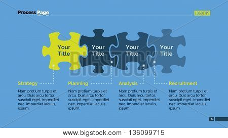 Mission vision values infographics. Business infographics, presentation slide, puzzle diagram. Concept for infographics, templates, reports. Can be used for topics like strategy, working process