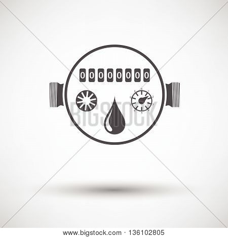 Water Meter Icon