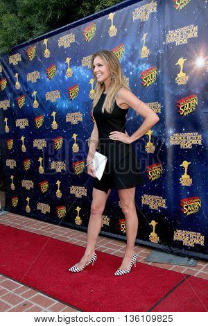 Tricia Helfer arrives at the 42nd Annual Saturn Awards on Wednesday, June 22, 2016 at the Castaway Restaurant in Burbank, CA.