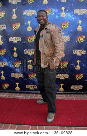 Brandon C. Jackson arrives at the 42nd Annual Saturn Awards on Wednesday, June 22, 2016 at the Castaway Restaurant in Burbank, CA.