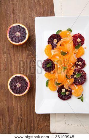 Blood Orange - Carrot Salad