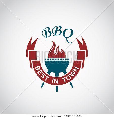 barbecue and grill icon graphic design