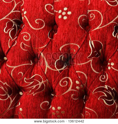 Colorful Upholstery Fabric Texture