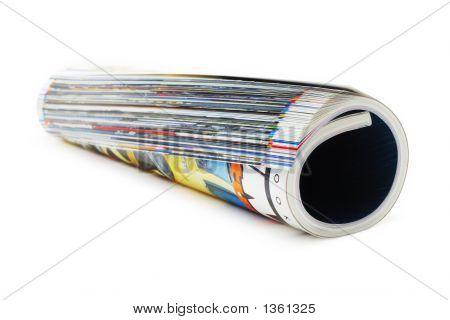 Magazine Roll (Isolated On White)
