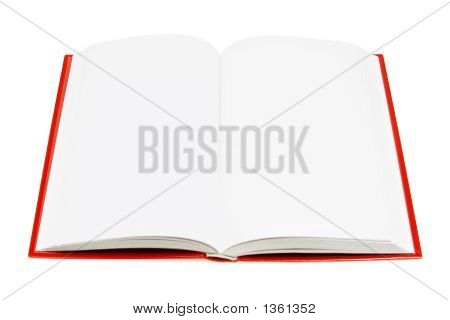 Open Book (Isolated On White)