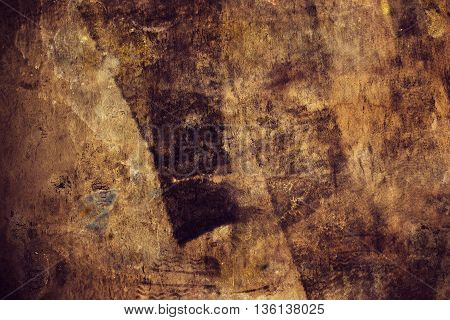 Dirty stained grunge background retro toned rubber texture