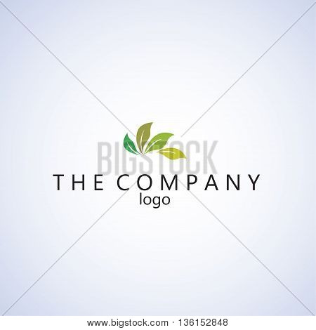 tree logo ideas design vector on background