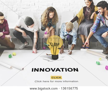 Innovation Design Development Ideas Imagination Concept