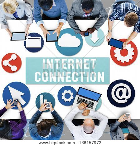 Internet Connection Online Technology Concept