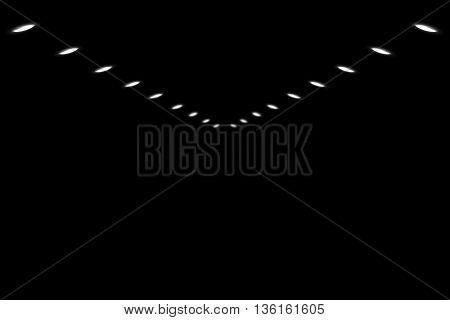 IES Spot Light on a black background.