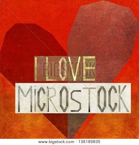 I love microstock