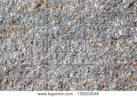 stone brick stick in the wall as a background texture