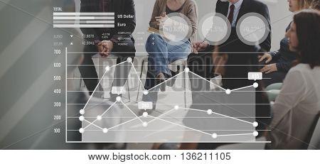 Graph Chart Finance Statistics Concept
