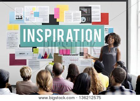 Inspiration Creative Dream Imagination Innovate Concept
