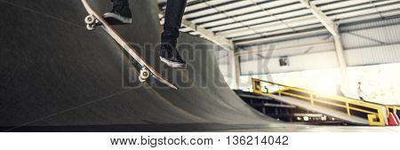 Skateboarder Skateboard Skateboarding Skate Concept