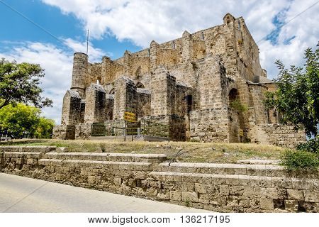 May 24 2016.Famagusta.The Church of Peter and Paul in the old town of Famagusta .Northern Cyprus.