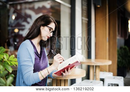 Cafe Leisure Relaxation Searching Vision Working Concept