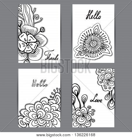 stock vector template for flyer brochure card cover book