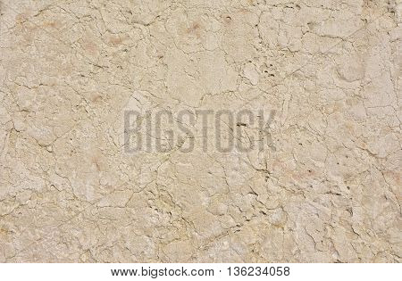 Istrian stone ancient wall background, typical building stones of Venice and Dalmatia since Middle Ages