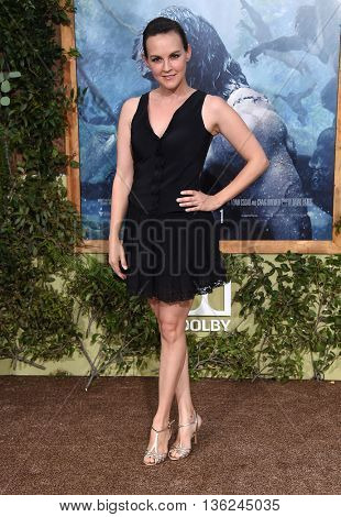 LOS ANGELES - JUN 27:  Carla Gallo arrives to the