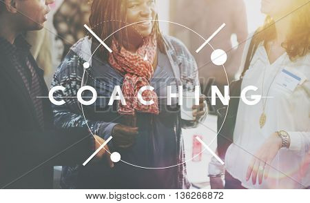 Coaching Training Trainer Support Advice Concept