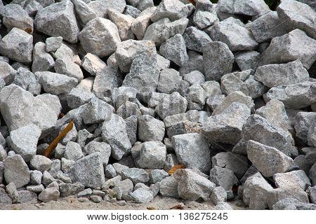 Grey Rocks texture background various size .