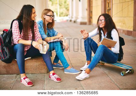 Conversation of students