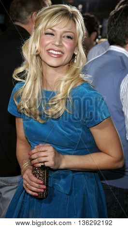 Samaire Armstrong at the Los Angeles premiere of 'Just My Luck' held at the Mann National Theater in Westwood, USA on May 9, 2006.