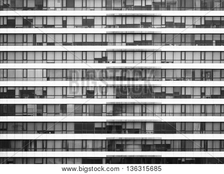 Architecture detail Modern Window void Pattern exterior Black and white