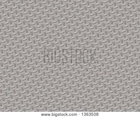 Diamond Plate Small Chrome