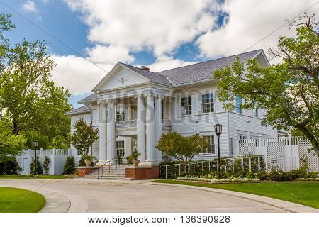 Boyd House At Oklahoma University