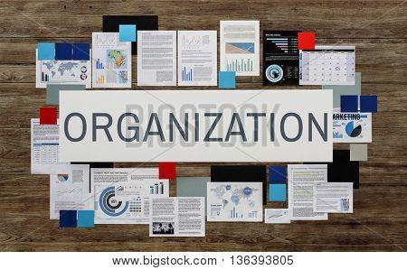 Organization Management Productivity Commitment Concept