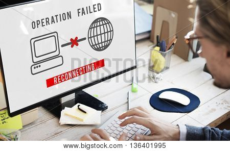 Operation Failed Fiasco Neglect Unsuccessful Concept