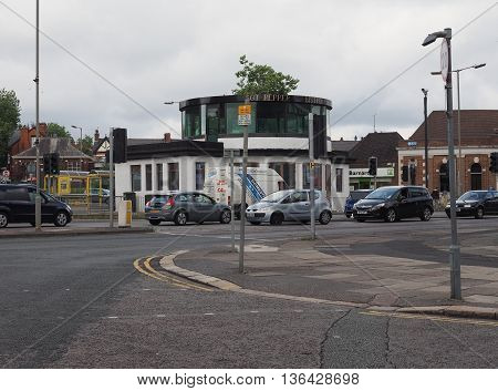 Penny Lane Bus Shelter In Liverpool
