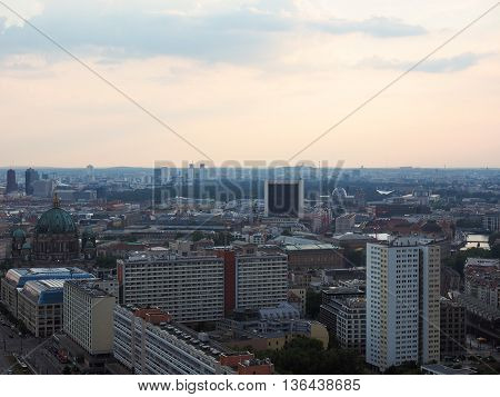 Aerial View Of Berlin