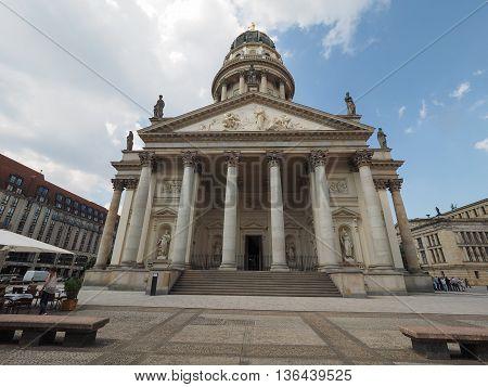 Franzoesischer Dom In Berlin