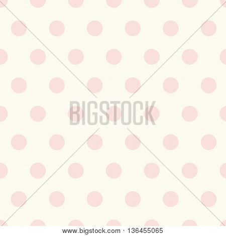 Seamless polka dot pattern background and texture