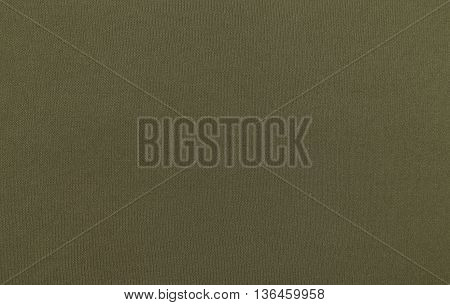 Green spandex fabric texture background, close up