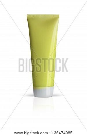 Oriflame. Optimals Aqua Refresh Face Mask. Cosmetic for face care. Isolated on a white background. With clipping path.