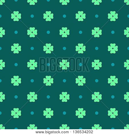 Flowers geometric seamless pattern. Fashion graphic background design. Modern stylish abstract texture. Colorful template for prints textiles wrapping wallpaper website. Stock VECTOR illustration