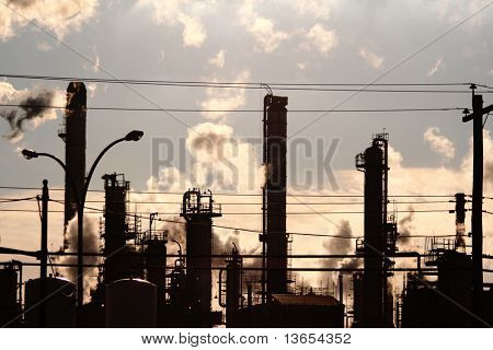 Pollution from a Gas Power Station