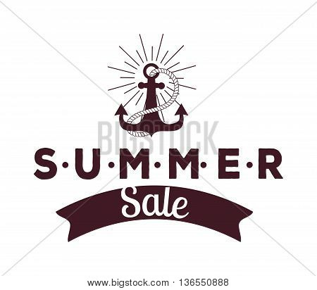 Summer sale logo vector illustration. Summer sale logo isolated on white background. Summer sale logo vector icon illustration. Summer sale logo isolated vector. Summer sale logo silhouette