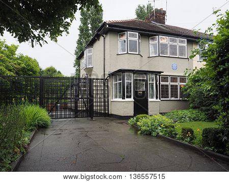 John Lennon House In Liverpool