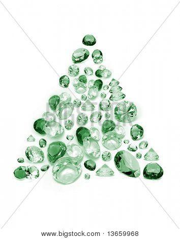 New Year's diamond tree