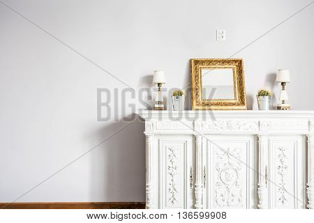 Sophisticated Beauty Of Antique Piece Of Furniture