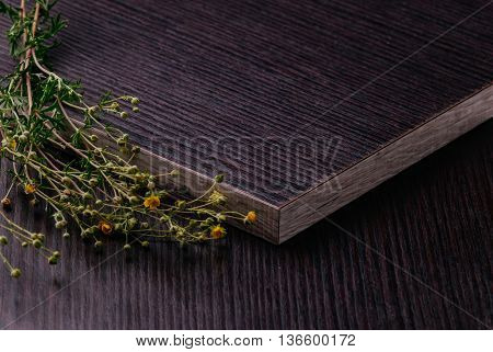 Laminated Particleboard (chipboard) With Decorative Flowers