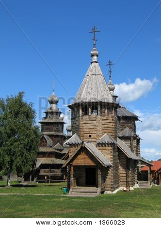 Wooden Churches In Suzdal.