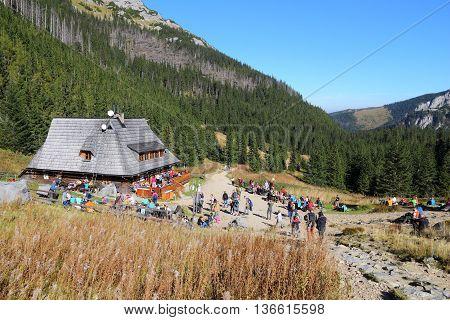 Poland Mountain Hut